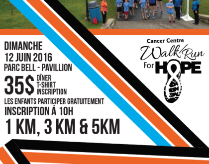Join the Fight: NCF Walk/Run for Hope