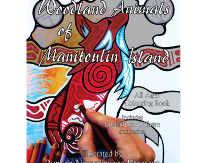 Northern Ontario's Local Colouring Book: Woodland Animals of Manitoulin Island