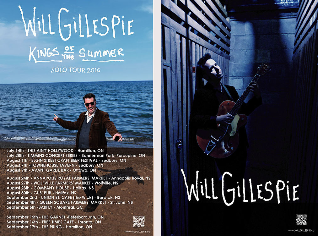 Will Gillespie: A king of summer!