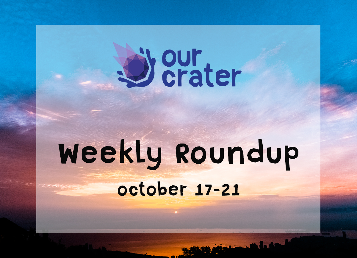Weekly Roundup: October 17-21