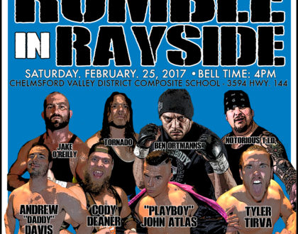 Rumble in Rayside: Raising money for Chelmsford Valley District Composite School