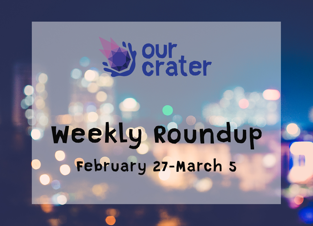 Weekly Roundup: February 27-March 5