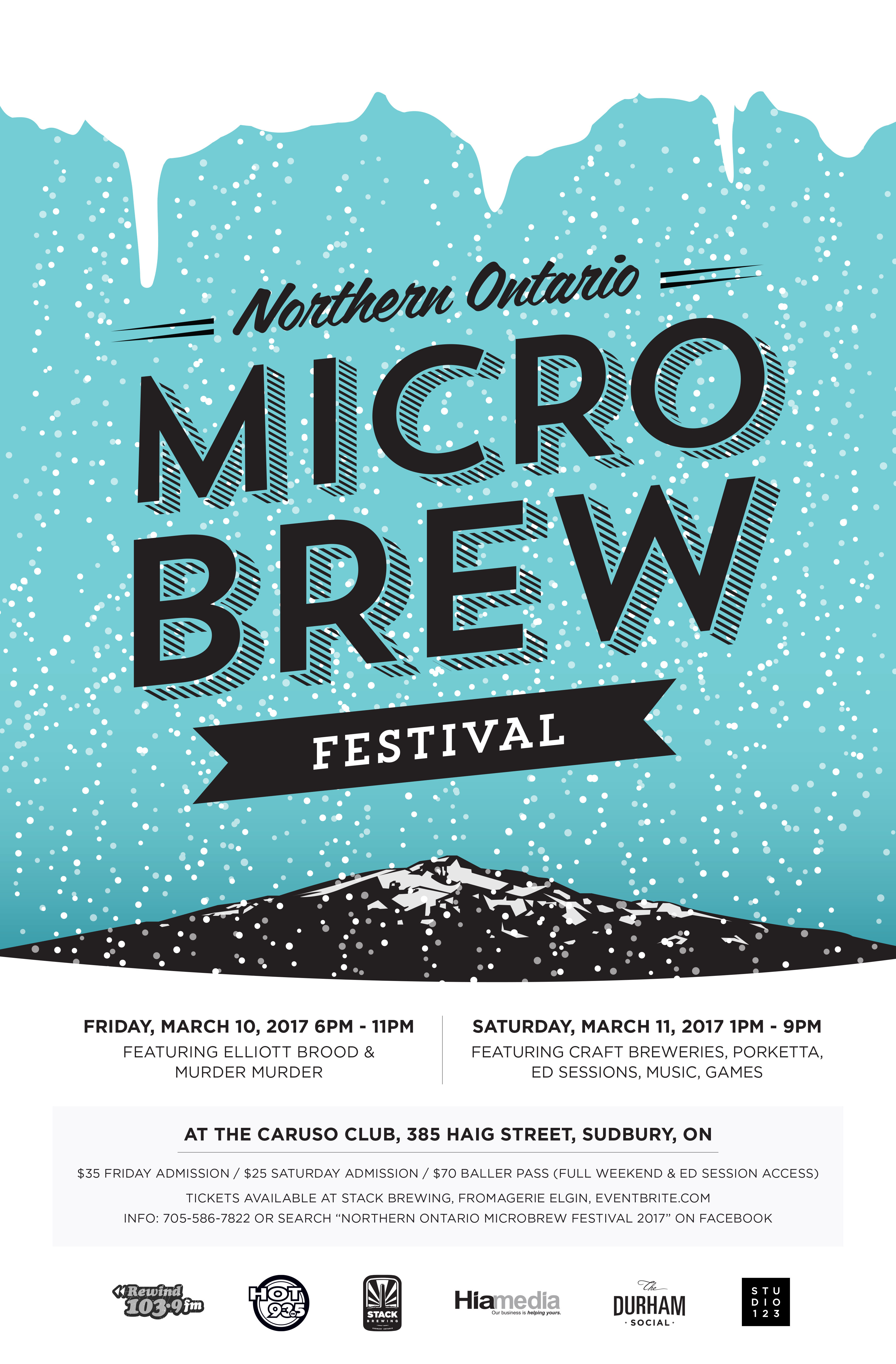 Northern Ontario Microbrew Festival: Two days of delicious craft beer