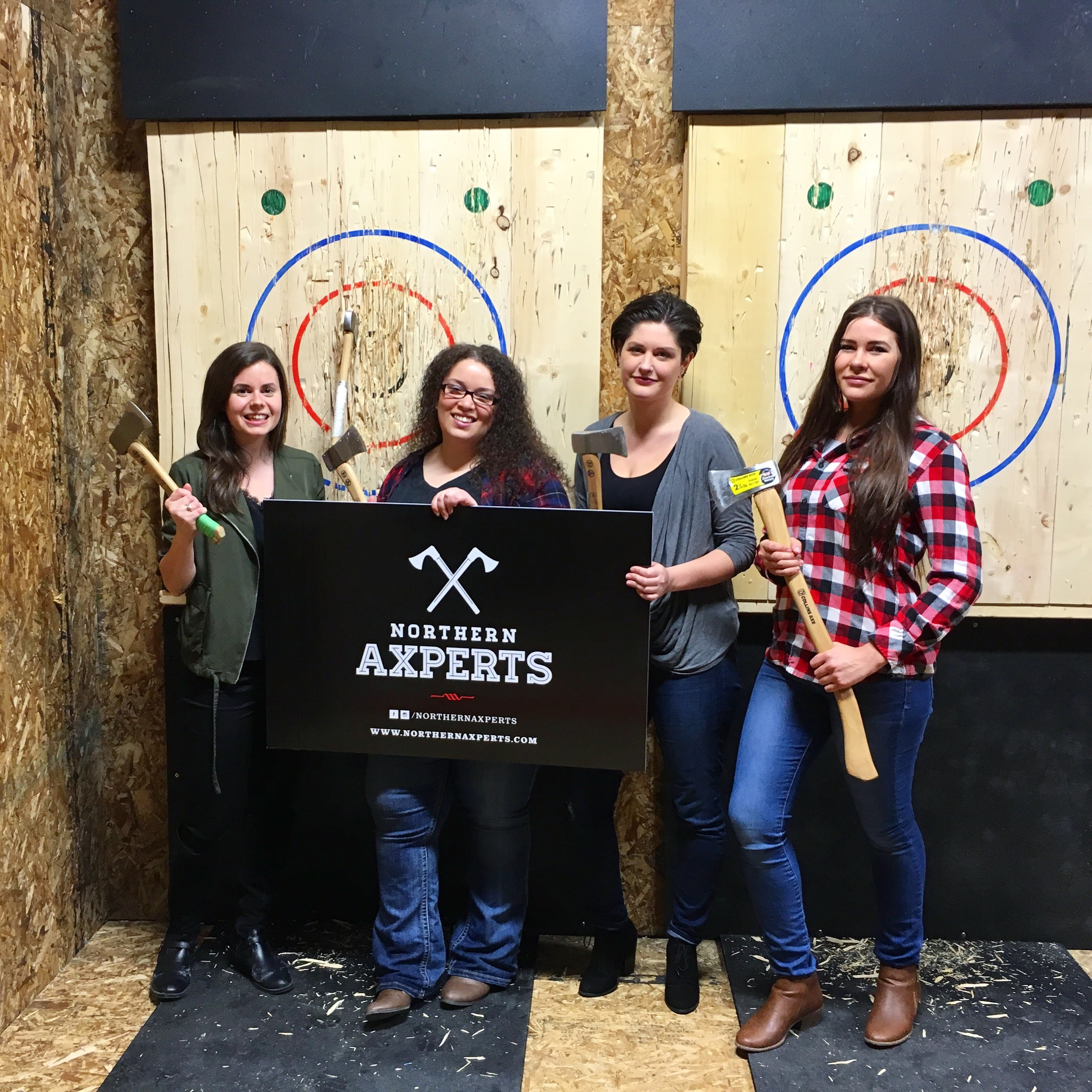 Northern Axperts bring axe-citing new sport to Sudbury.