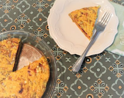 SWEET POTATO BEET FRITTATA