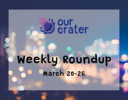 Weekly Roundup: March 20-26