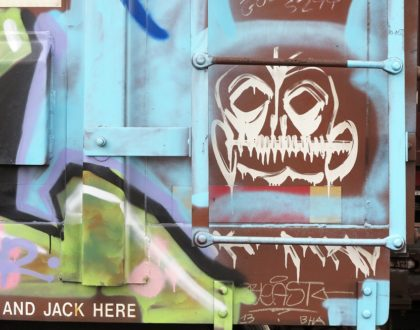 DOUGLAS BORNN PHOTOGRAPHS: AN EXPLORATION OF TRAIN CARS AND GRAFFITI